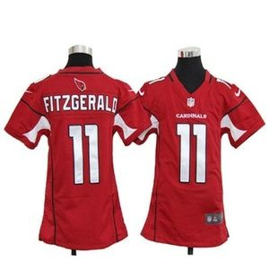 Women Arizona Cardinals Larry Fitzgerald Jersey (4
